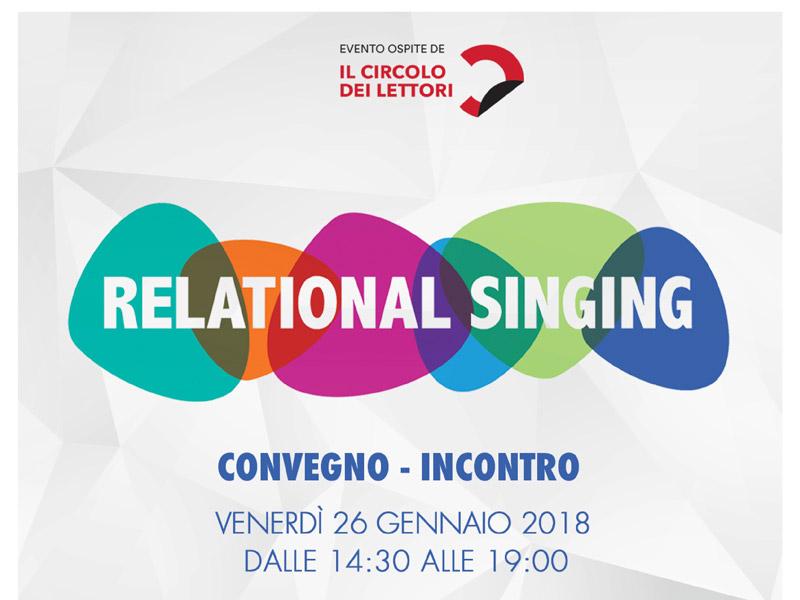 Relational Singing Convegno